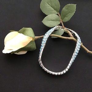 3/$15 SALE- Blue Ankle Bracelet
